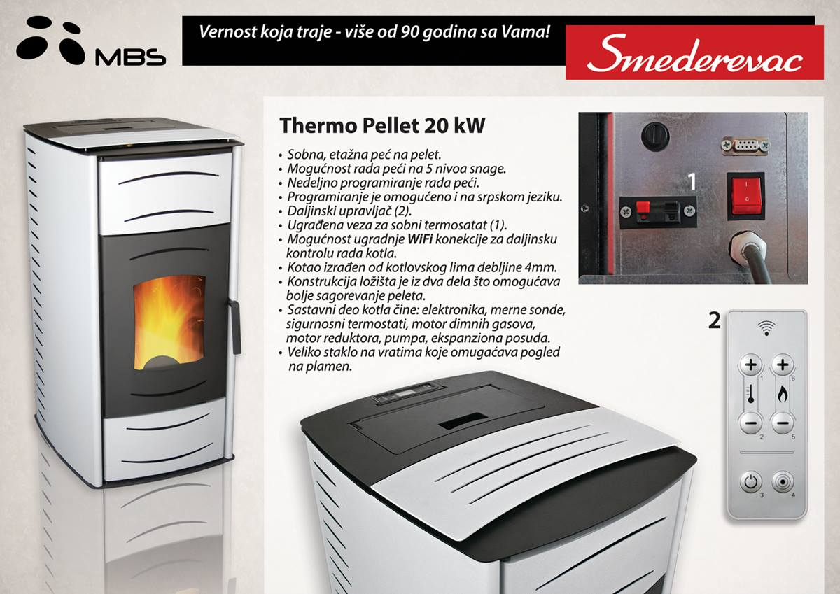 Thermo pellet 20